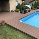 rekonstrukce terasy uu bazénu, woodparket