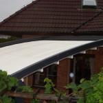 roztažená pergola střechy