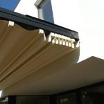 stahovací střecha na pergole