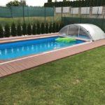 terasa kolem bazénu z woodplastic