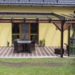 zastřešená terasa v pergole