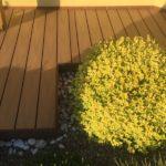 ukončení terasy woodplastic z dřevoplastu