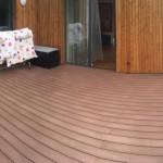 woodplastic terasa na střešní terasu z dřevoplastu
