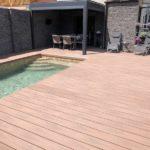 woodplastic terasa u bazénu