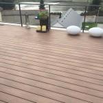 zabydlená dřevoplastová terasa woodplastic