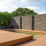 zastřešení bazénu wpc terasou